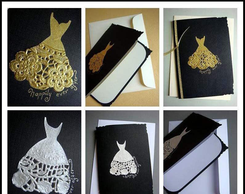 4weddingku blog  handmade  wedding dress card
