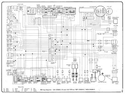 honda cx500 wiring diagram cars and bikes. Black Bedroom Furniture Sets. Home Design Ideas