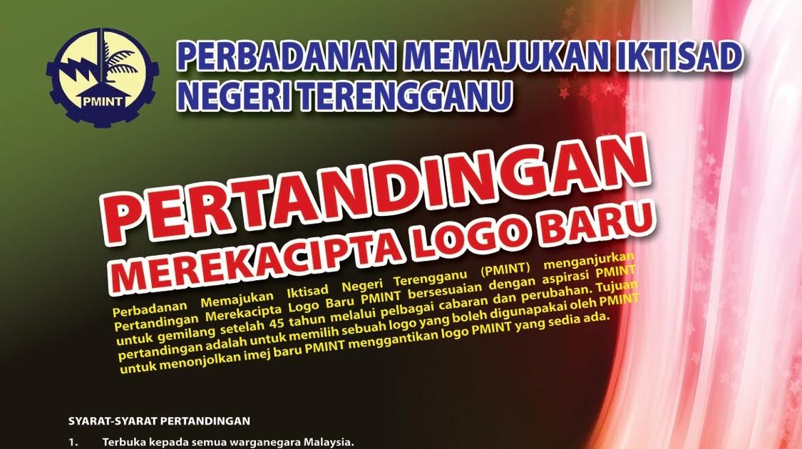 teganuku  PMINT Anjur Pertandingan Cipta Logo 569a9d8d22