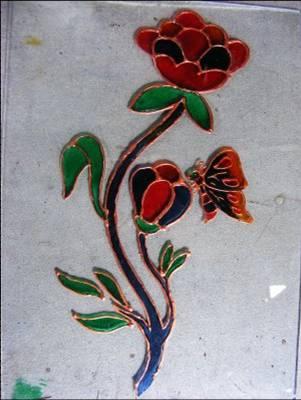 contoh motif batik flora dan fauna ~ Kursus Menjahit