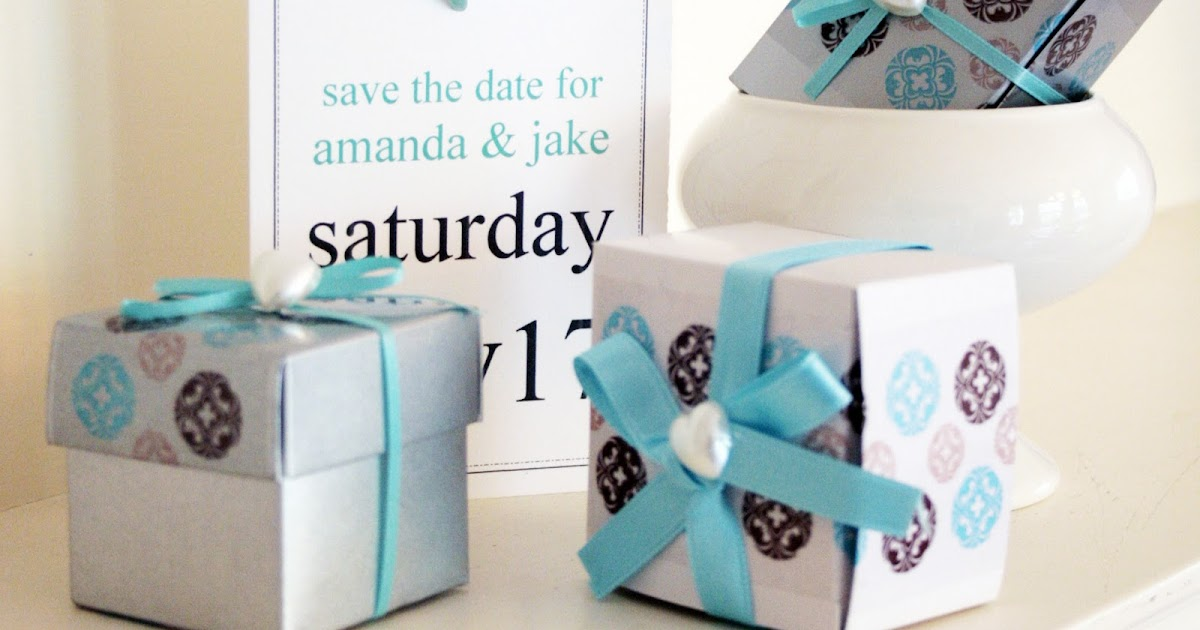 Do I Need Bridesmaids 4 Reasons To Have A Wedding Without: Decorative Tape In Action: Brown And Blue DIY Wedding