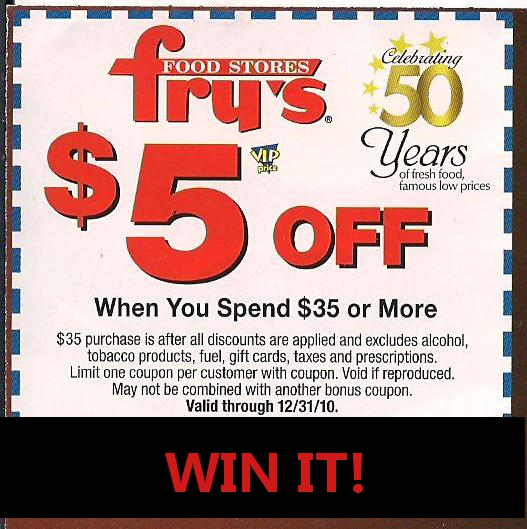 image relating to Frys Printable Coupons referred to as Frys foods coupon codes - Wmu campus discount codes