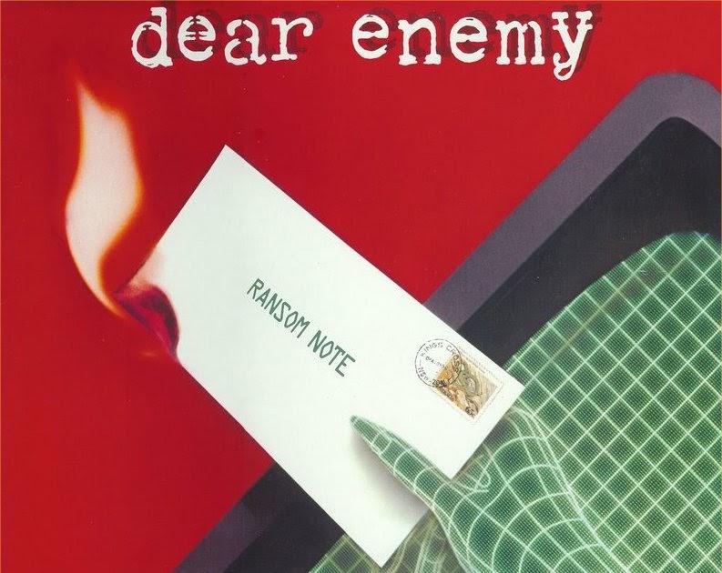 Rock On Vinyl Dear Enemy Ransom Note 1983 Bonus Tracks