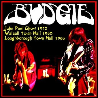 Rock On Vinyl Budgie Peel Sessions 1972 Walsall