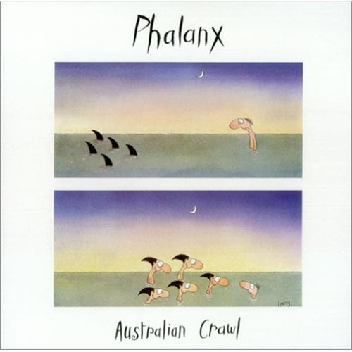 Rock On Vinyl Australian Crawl Phalanx Live 1983