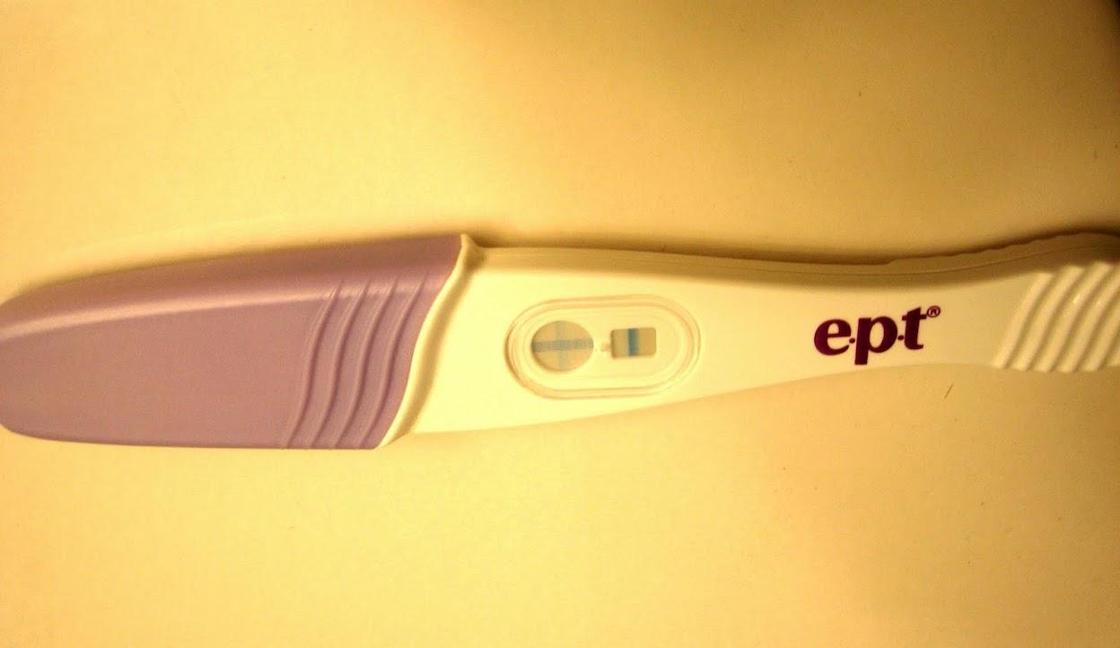 40 days pregnant development, ept pregnancy test efficacy
