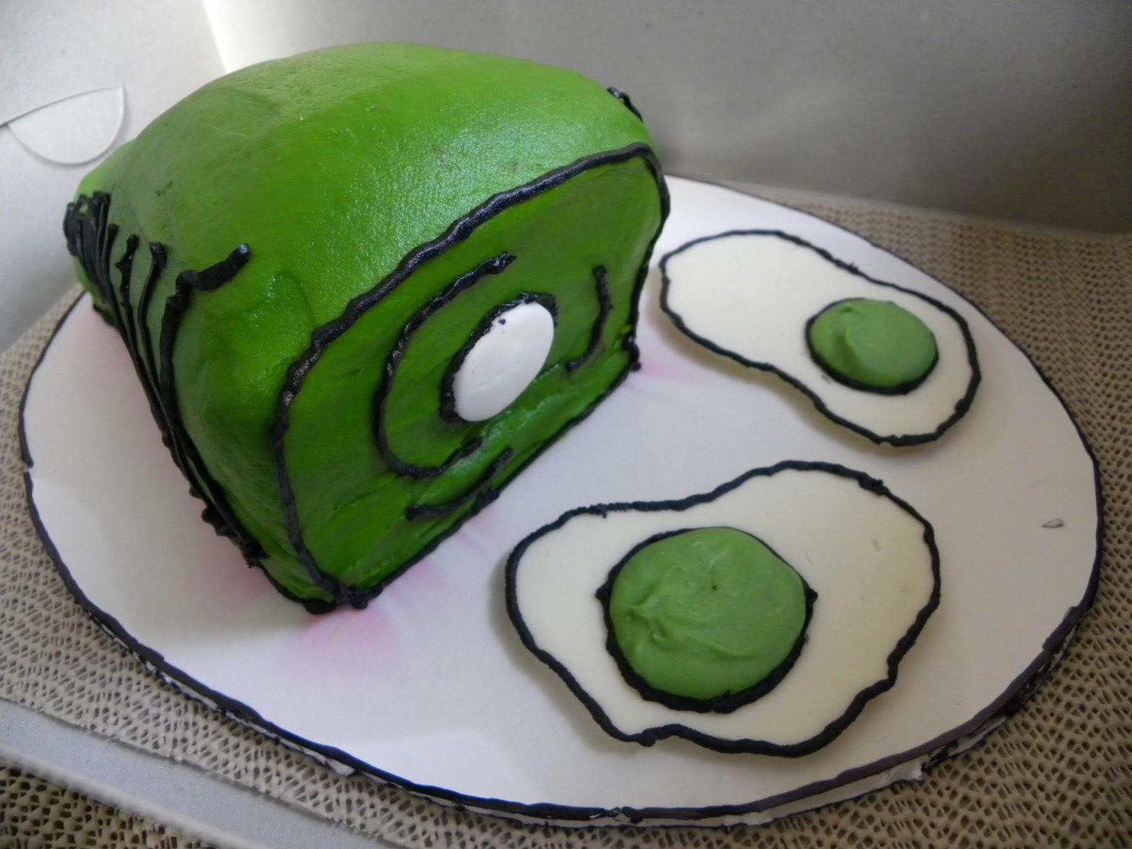 The Cake Box Girls Dr Suess Birthday Cake