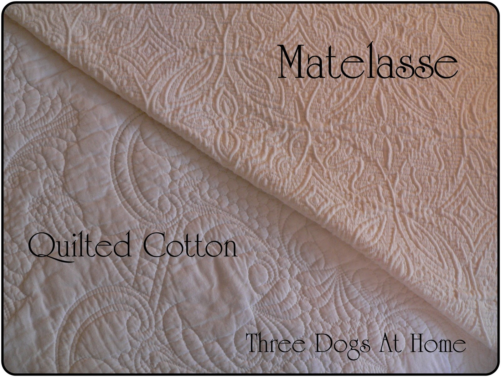 Mattelesse The Almost Dog Proof Bedspread Three Dogs