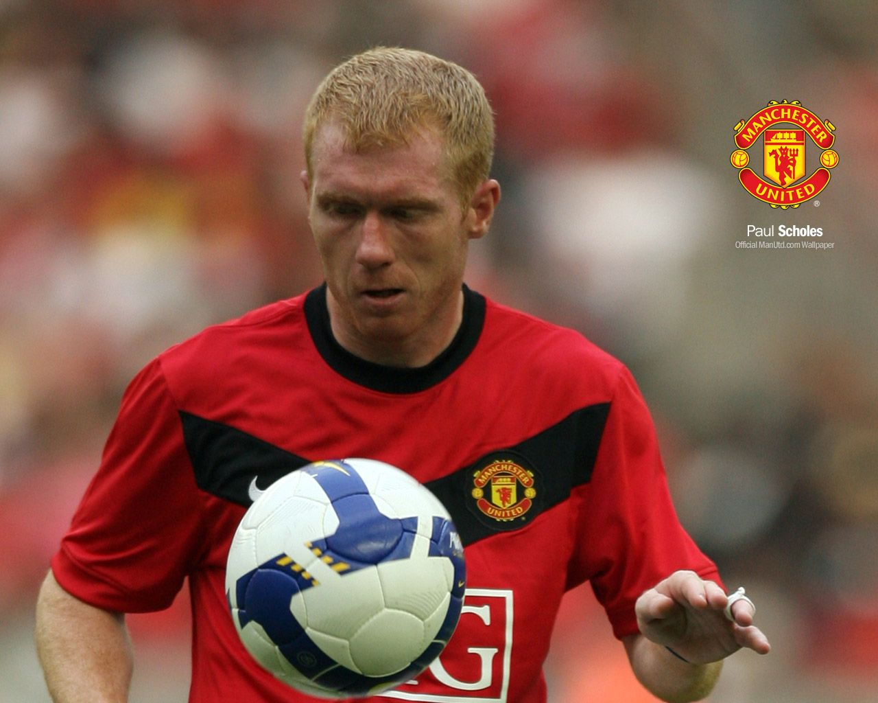 Paul Scholes: MANCHESTER UNITED FC: Paul Scholes