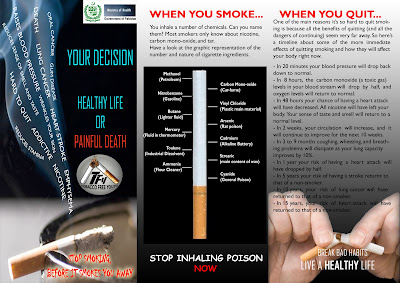 Tobacco Free Youth New Anti smoking ads for print media
