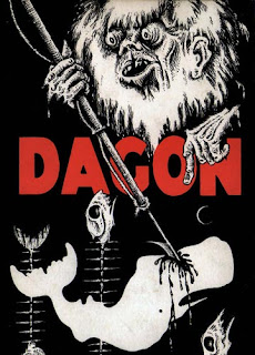 Dagon and Other Macabre Tales, Arkham House, 1965, copertina di Lee Brown Coye