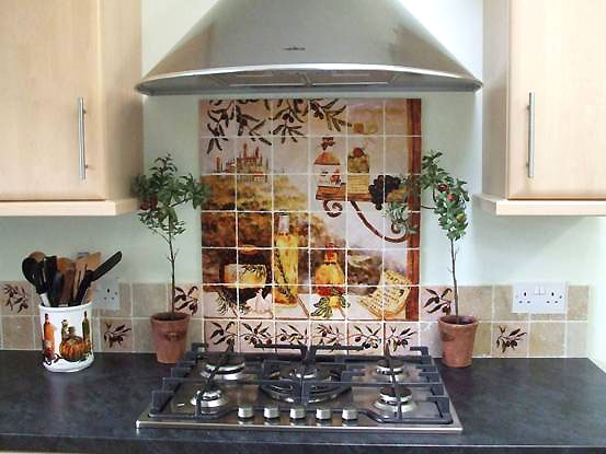 Kitchen Tile Murals Ma