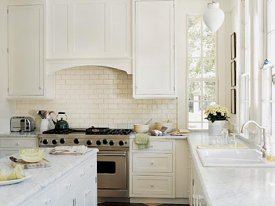 White Kitchen Carrera