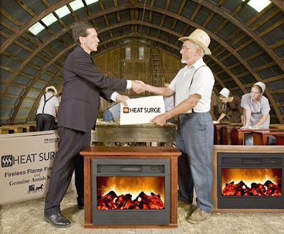 """Kitchen and Residential Design: """"Amish"""" space heaters? Really?"""
