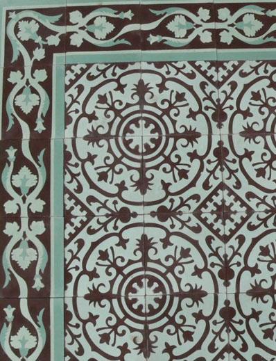 Kitchen and Residential Design Cuban tile isnt encaustic