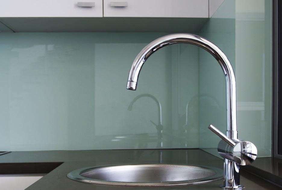 Horizontal Glass Kitchen Cabinets
