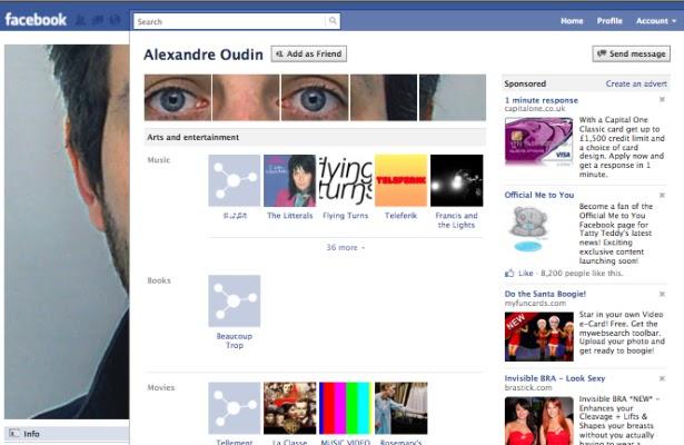 Facebook Neues Profil