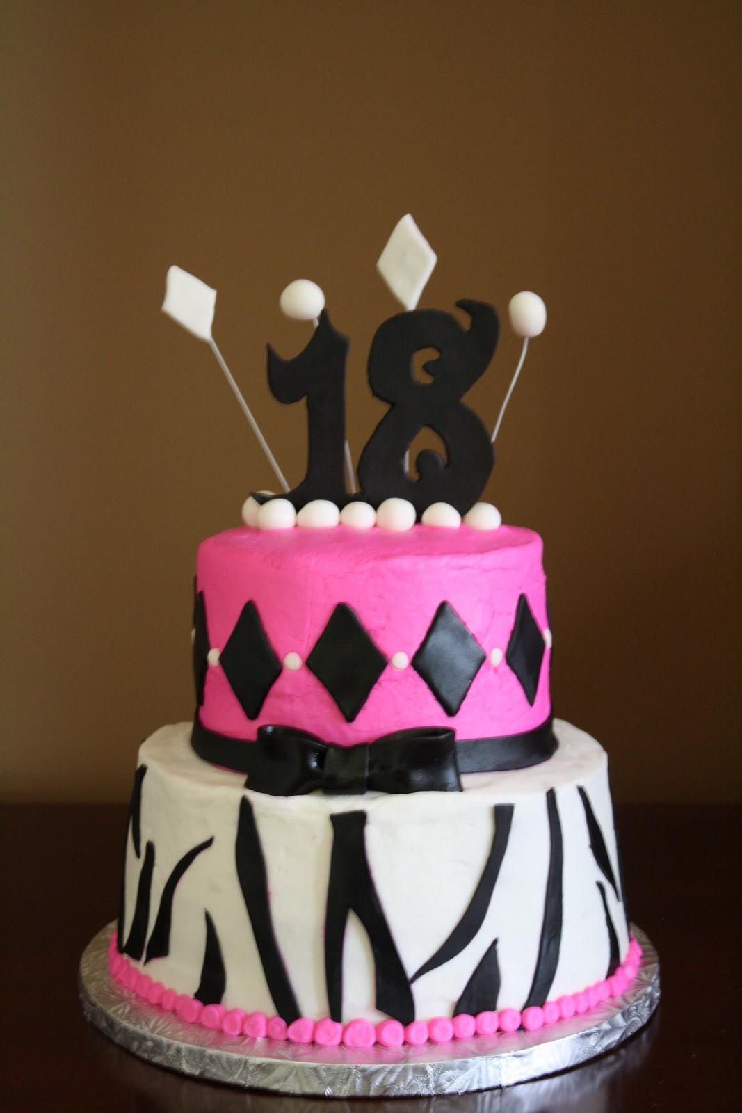 Happy Cakes Sweet 18