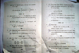 Question Paper nagpur