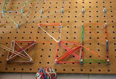 Filth Wizardry Giant Homemade Geoboard