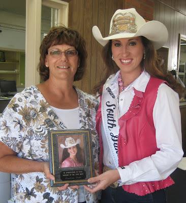 Miss Rodeo South Dakota 2009