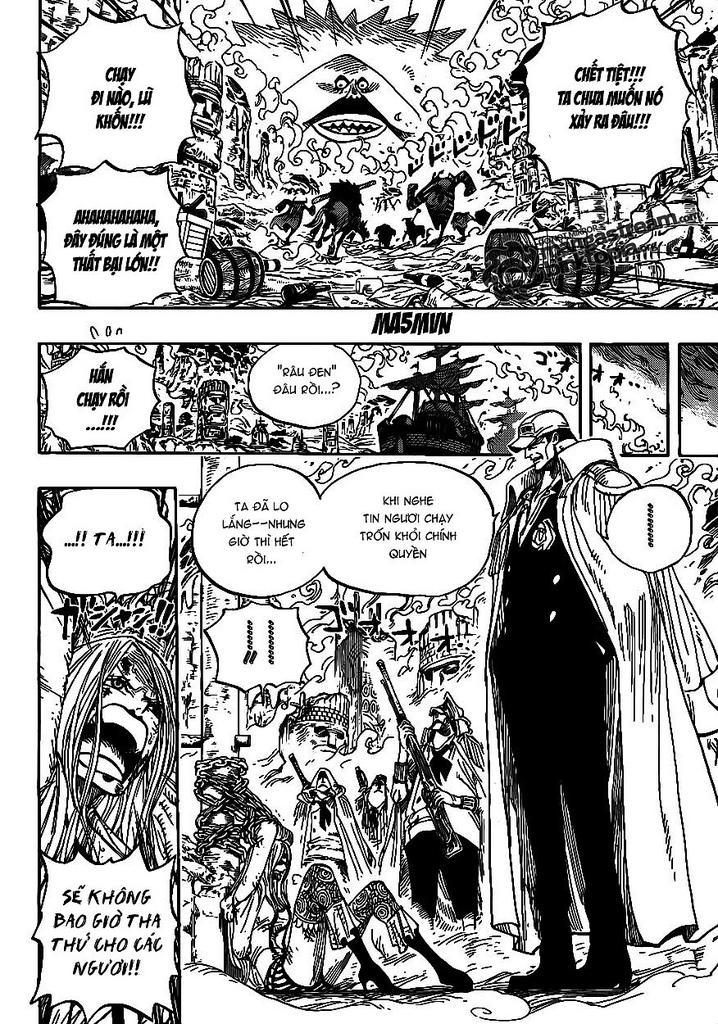 One Piece Chap 595