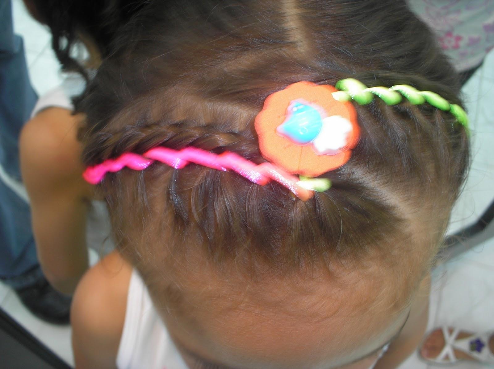 Peinados Con Cintas Para Nina Elainacortez