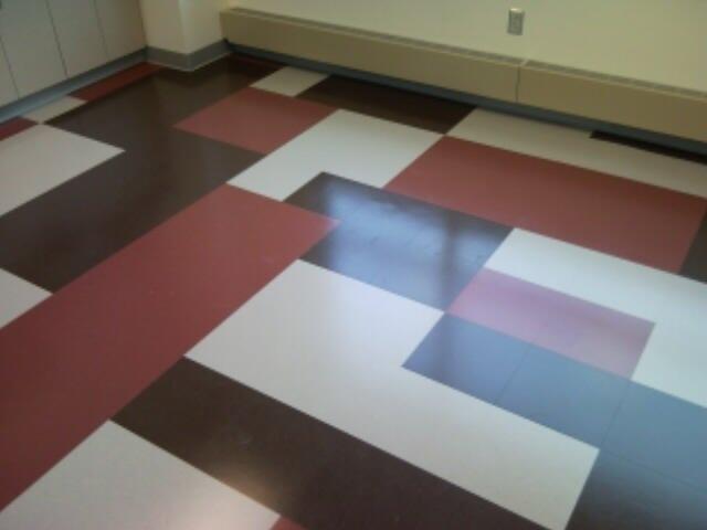 R3d Art Custom Vinyl Flooring Pattern