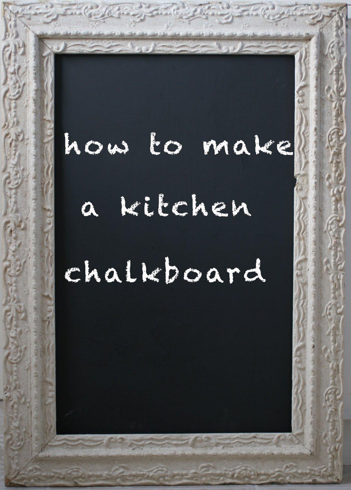 Chalkboard In Kitchen Ella's Baby Food Twenty Two Pleasant And Birch Candles