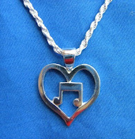 Handmade sterling silver pendant by jewelry maker Tony Payne