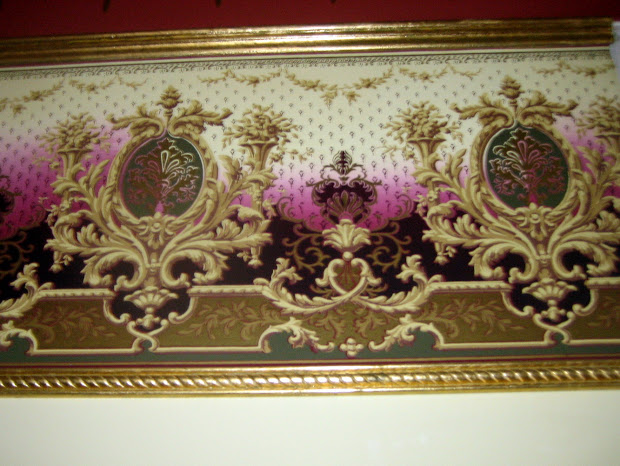 Victorian Reproduction Wallpaper Border