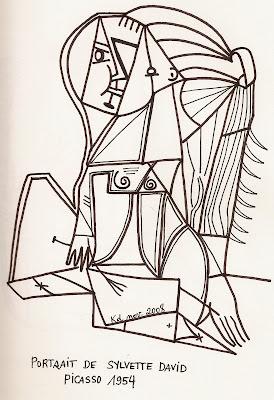 Karine S Art Picasso Nouveaux Dessins