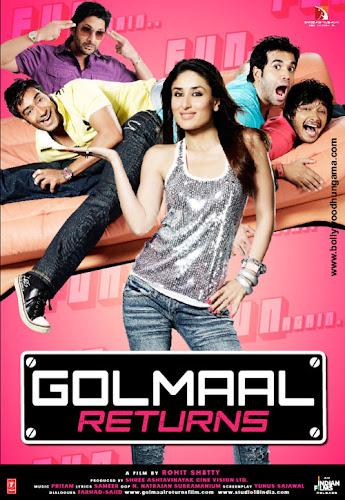 Golmaal Returns (2008) Movie Poster