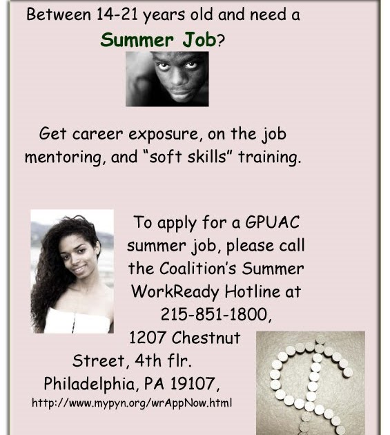 Jobs For 14 Year Olds In Philadelphia Pa