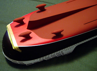 Model Ships by Scott Hardy: Revell Queen Mary II Hull Construction