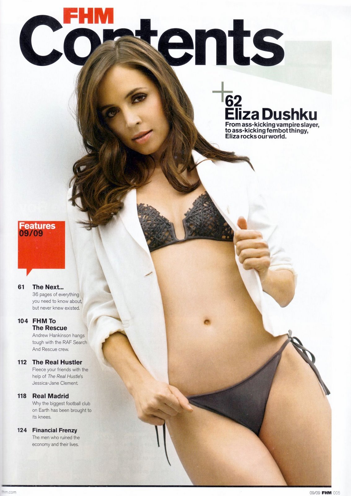 Eliza Dushku FHM uk