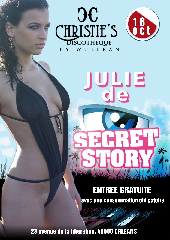 Secret Story Julie sexy