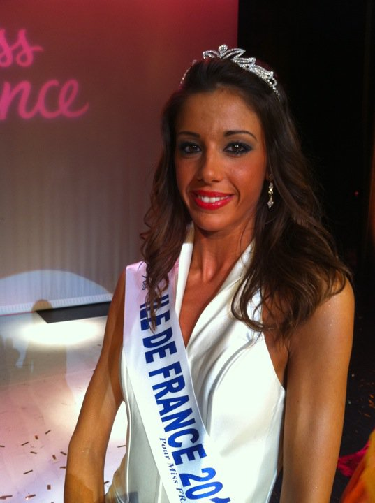 Pauline Darles Miss Ile de France abandon Miss France 2011 elle explique les raisons
