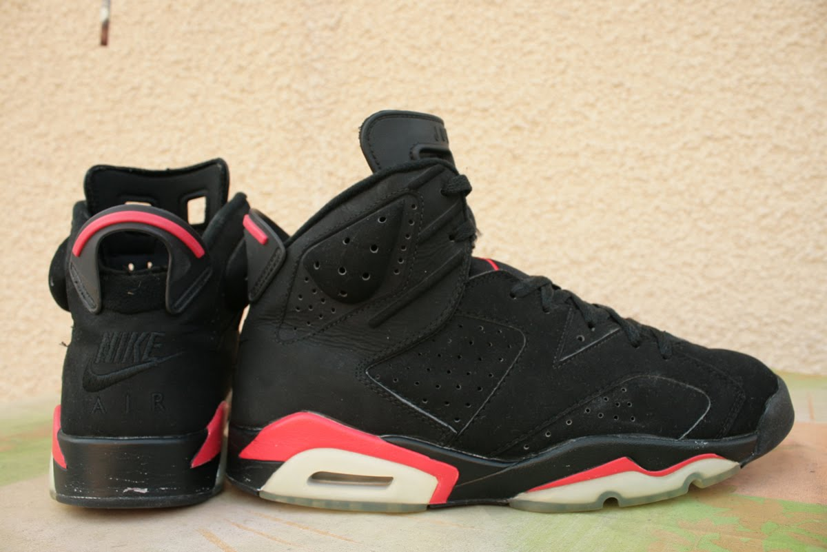 8f2942b8033 GORGEOUS KICKS: Air Jordan 6 (VI) Retro 2000 Black / Deep Infrared