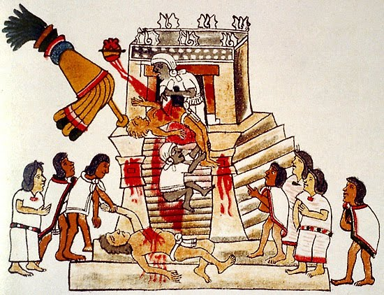 Making Sacrifice Aztecs
