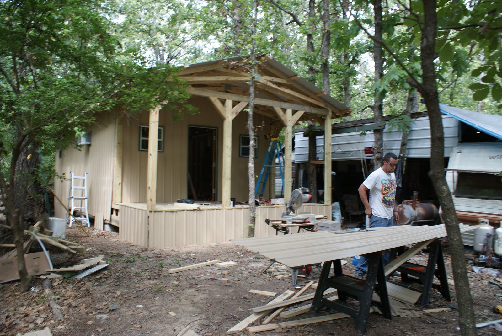 Accede Construction Hunting Cabin And Deer Blind Construction