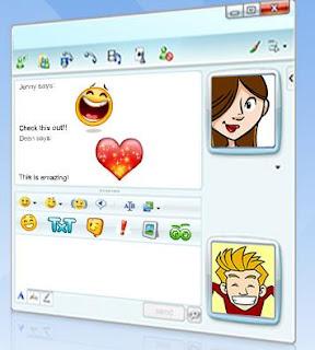 emoticons para msn badoo