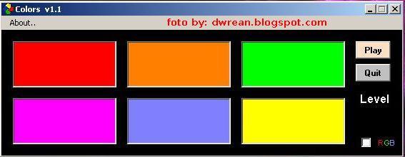 Colors 1.1 - Δωρεάν ελληνικό παιχνίδι μνήμης