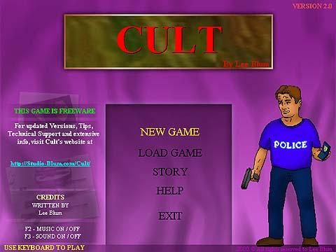 Cult 2.08 - Δωρεάν παιχνίδι περιπέτειας στα Ελληνικά