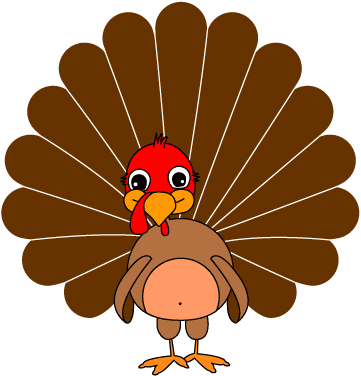 Funny Turkey Clipart