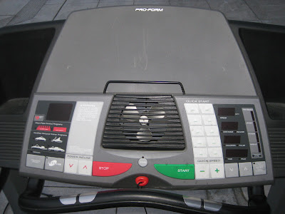 Uhuru Furniture Amp Collectibles Sold Pro Form Treadmill