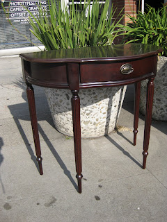 Sold Duncan Phyfe Console Table 90 Posted By Uhuru Furniture Collectibles Oakland At 1 59 Pm