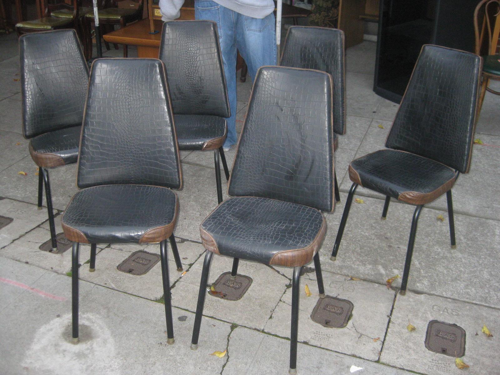Uhuru Furniture & Collectibles Sold  6 Vinyl Kitchen