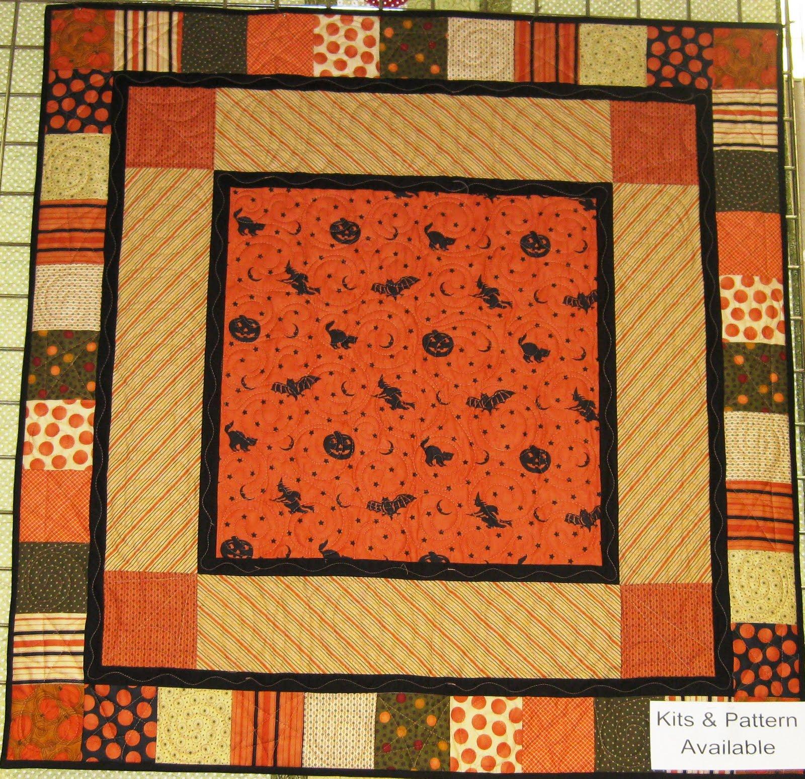 Fabric Mill Halloween Quilt Kit