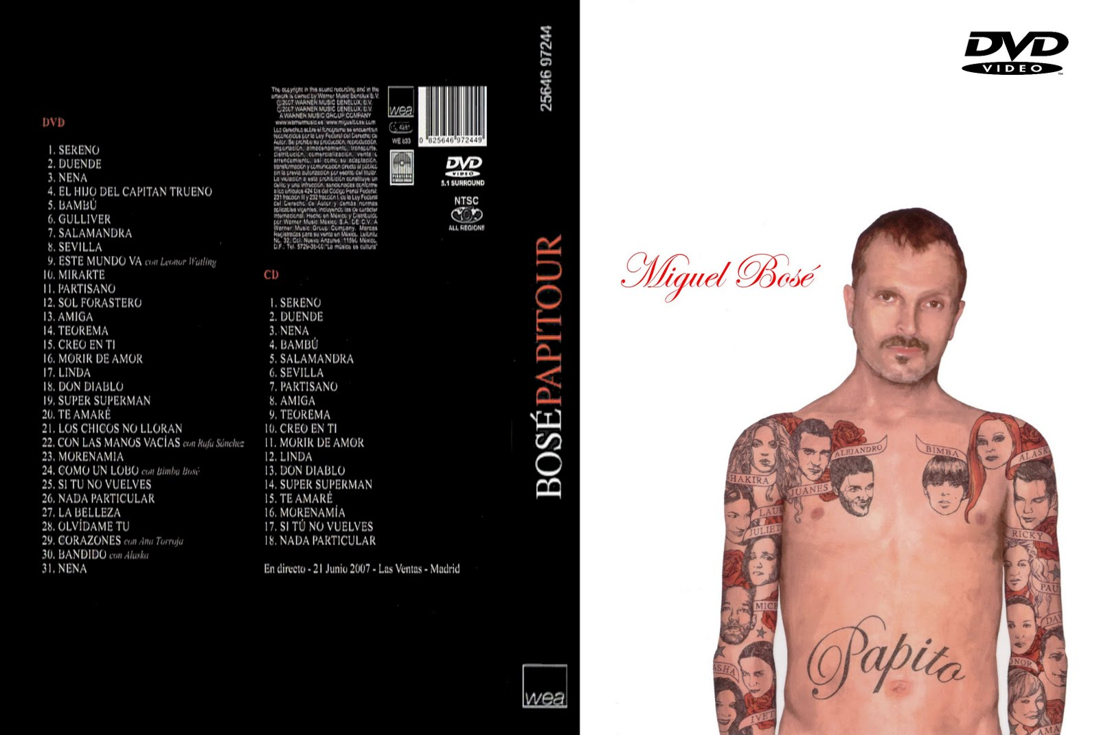 papito miguel bose dvd